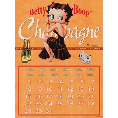 Μεταλλική αφίσα - Βetty Boop ημερολόγιο