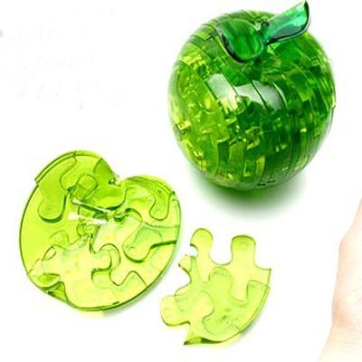 3D Crystal Puzzle Μήλο