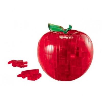 3D Crystal Puzzle Μήλο Κόκκινο