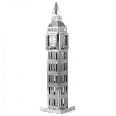 Big Ben Tower, Metal Earth