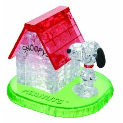 3D Crystal Puzzle Snoopy