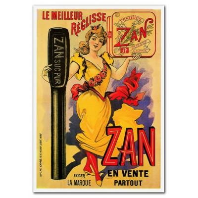Μεταλλική αφίσα - Ζan