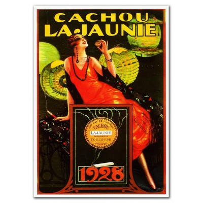 Μεταλλική αφίσα - Cachou La Jaunie