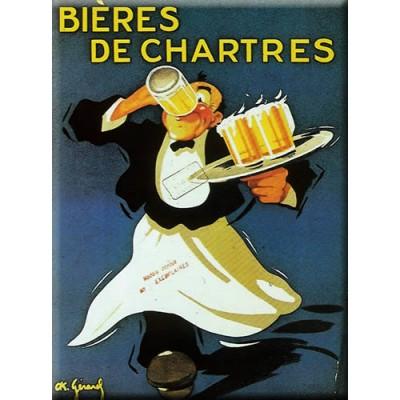 Μεταλλική αφίσα - Biere de chartres