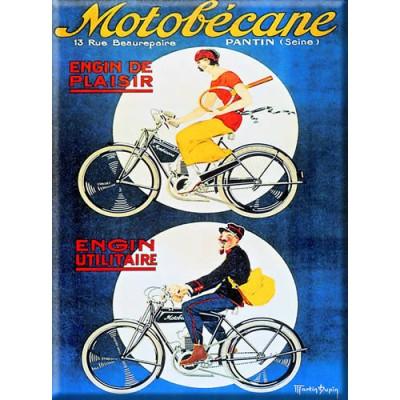 Μεταλλική αφίσα - Motorbecane