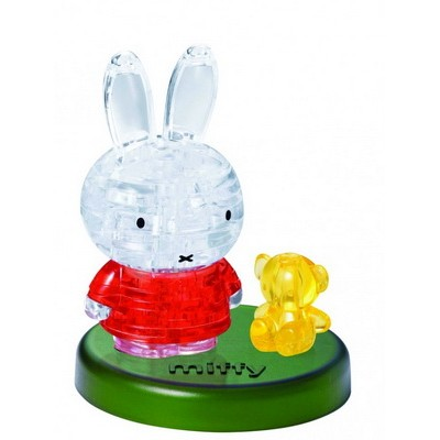 3D Crystal Puzzle Miffy and Bear