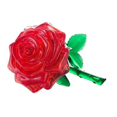 3D Crystal Puzzle Τριαντάφυλλο
