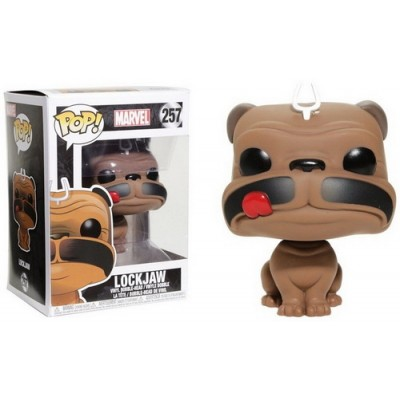 Pop! Marvel Inhumans Lockjaw #257, Funko