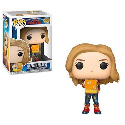 Pop! Marvel: Captain Marvel - Captain Marvel with Lunch Box #444 (Glow in the Dark)