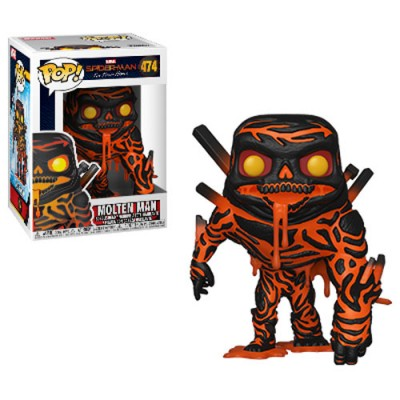 Pop! Marvel: Spiderman Far from Home - Molten Man # 474, Funko