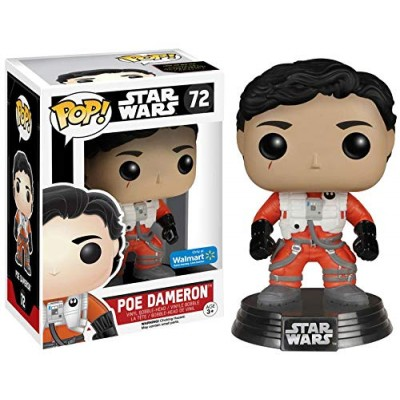Pop! Star Wars Poe Dameron Walmart Exclusive #72