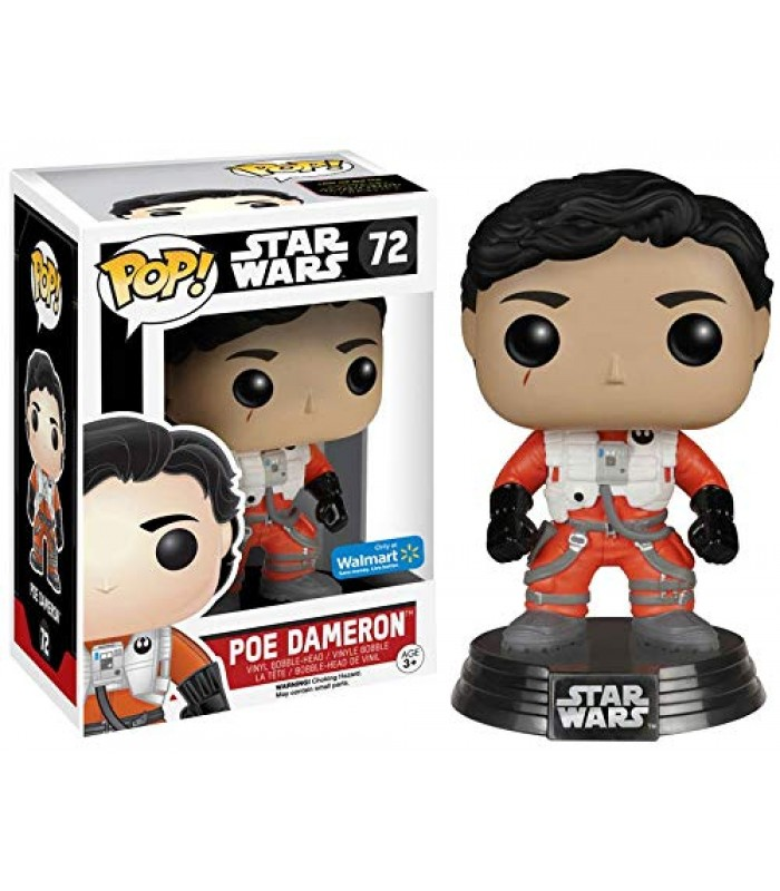 Pop! Star Wars Poe Dameron Walmart Exclusive #72