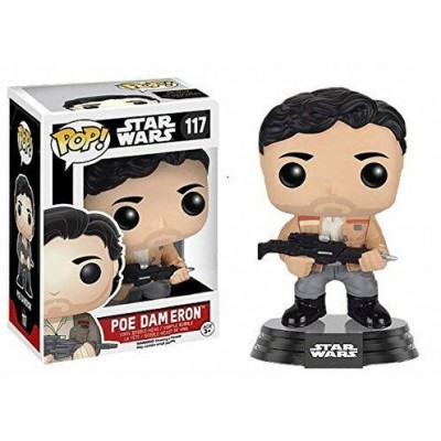 Pop! Star Wars Poe Dameron #117, Funko