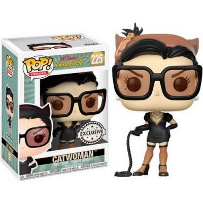 Pop! DC Comics Bombshells Catwoman Sepia Exclusive #225, Funko