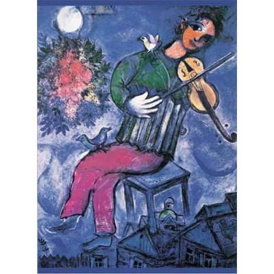 Le Violonist Bleu, Chagall, 1000 κομμάτια