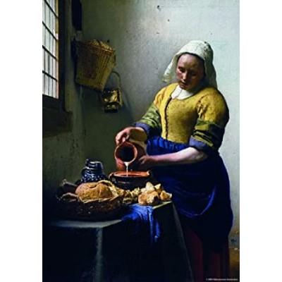 Johannes Vermeer: The Milkmaid, 1000 κομμάτια, PuzzelMan