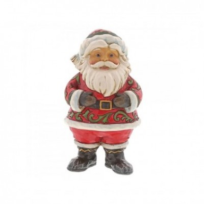 Jolly Santa Ornament