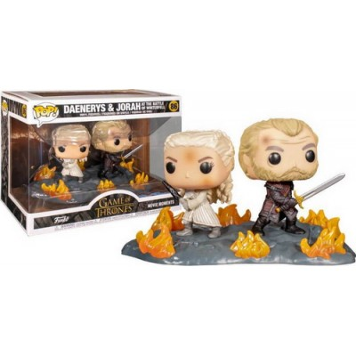 Pop! Movie Moments Game of Thrones 2 Pack Daenerys & Jorah #86, Funko
