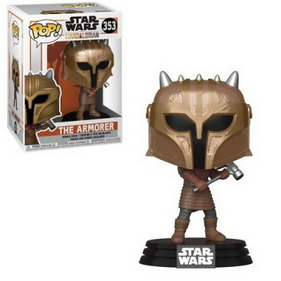 Pop! Star Wars The Mandalorian The Armorer #353, Funko