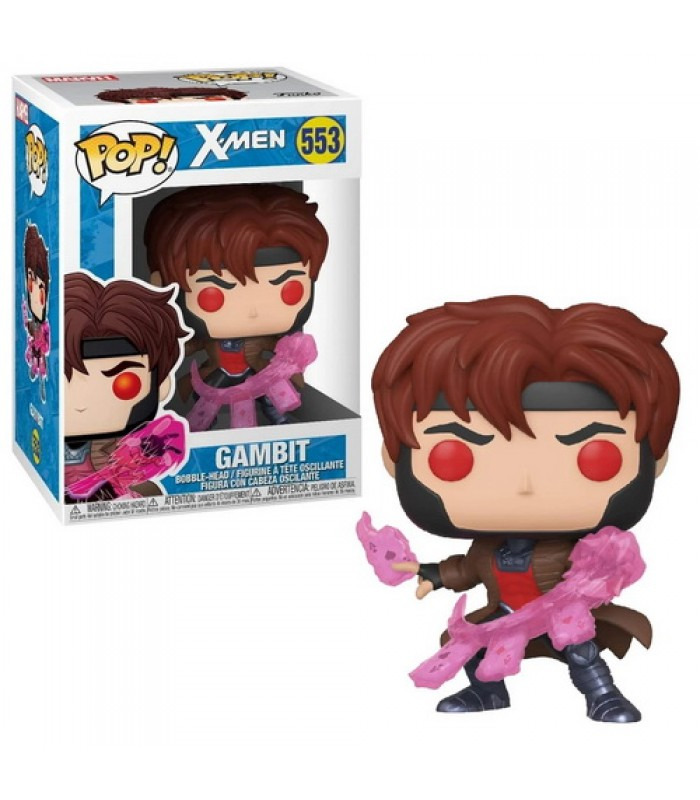 Pop! Marvel X-Men Classic Gambit with Cards #553, Funko