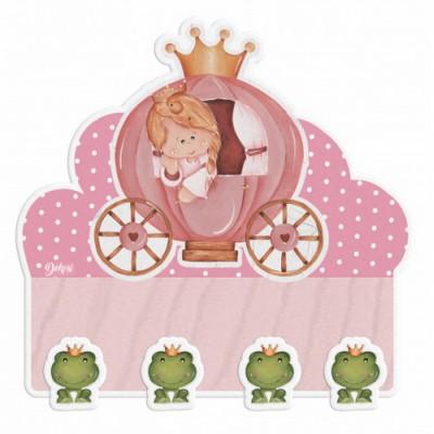 Κρεμάστρα Ξύλινη Πριγκίπισσα, Dekori
