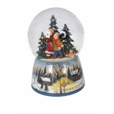 Χιονόμπαλα Παιδάκια στο Δάσος
