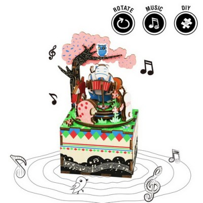 Forest Concert Music Box