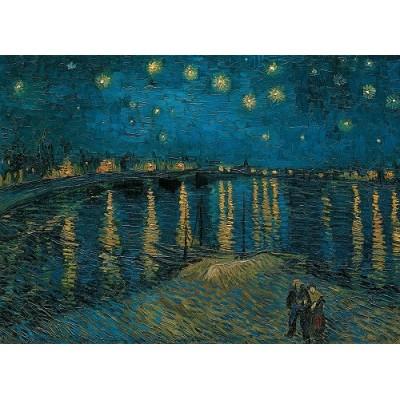 Πάζλ Van Gogh Έναστρη νύχτα πάνω από το Ρήνο