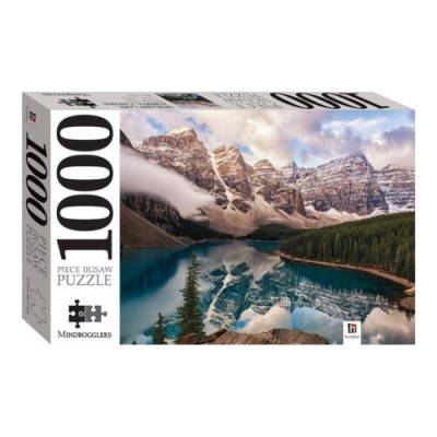 Λίμνη Μορέιν Αλμπέρτα Καναδάς 1000 κομμάτια