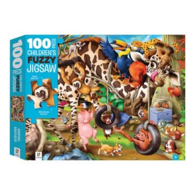 Ζώα Παζλ Χνουδωτό – Παζλ 100 κομματιών