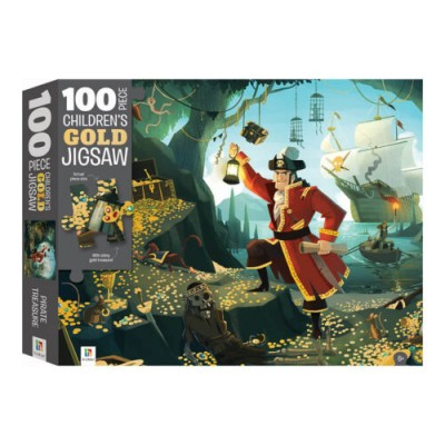 Ο Θησαυρός των Πειρατών – Παζλ 100 κομματιών