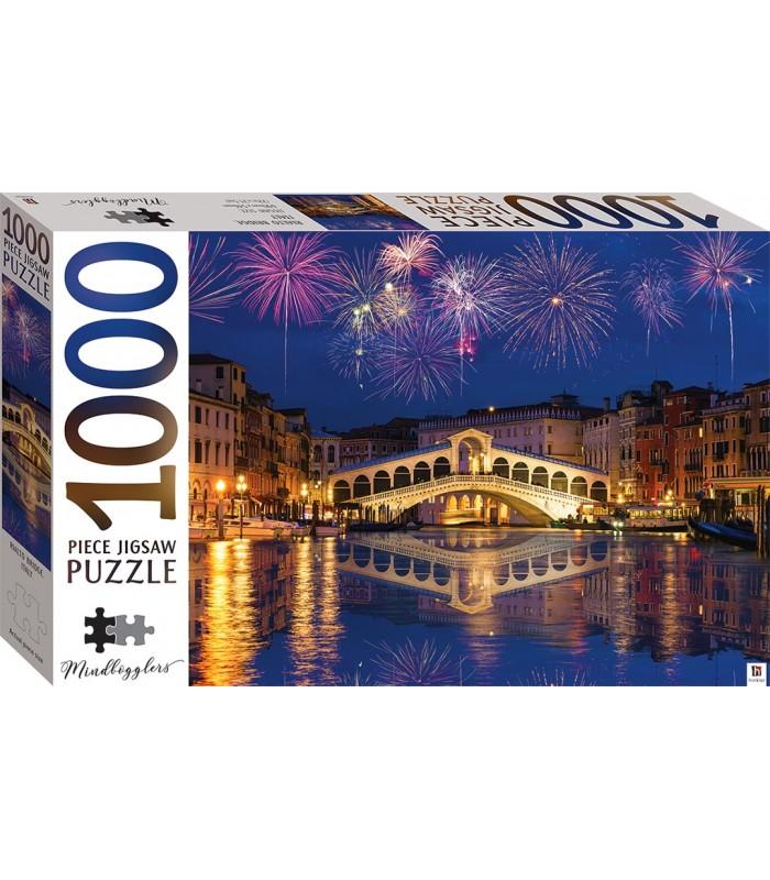 Γέφυρα Rialto Βενετία Ιταλία 1000 κομμάτια