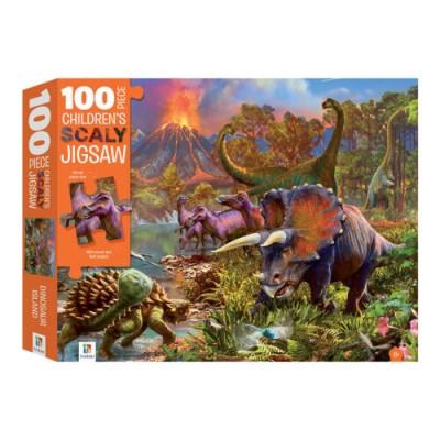 Το Νησί των Δεινόσαυρων – Παζλ 100 κομματιών