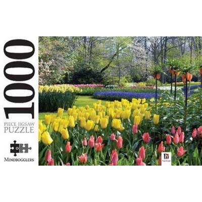 Keukenhof Gardens, 1000 κομμάτια