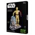 R2 D2 & C-3PO, Metal Earth
