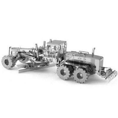 Cat Motor Grader, Metal Earth