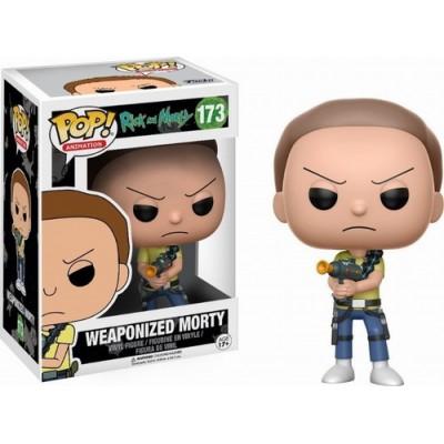 Pop! Rick & Morty Weaponized Morty #173, Funko