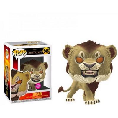 Pop! Disney Lion King Scar Flocked #548, Funko