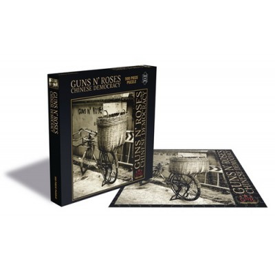 Guns n' Roses Puzzle Chinese Democracy,500 κομμάτια,rock saws