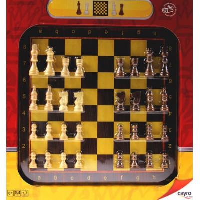 Ξύλινο Σκάκι με βάση