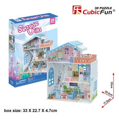 Seaside Villa Dollhouse