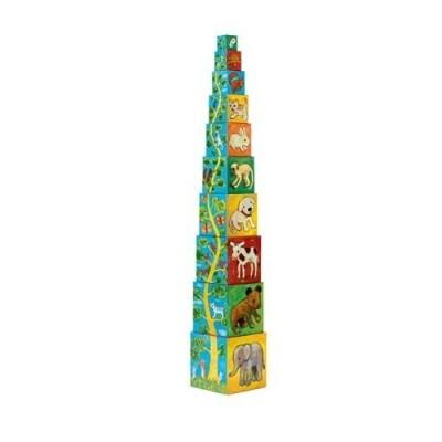 Πυραμίδα Κύβοι - Ζωάκια στο δέντρο
