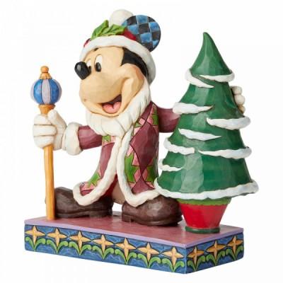 Όμορφη χριστουγεννιάτικη φιγούρα Mickey Mouse