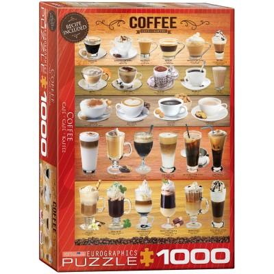 Coffee - Καφέ Πάζλ 1000 κομμάτια