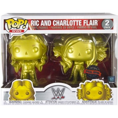 Pop! WWE: Ric & Charlotte 2-Pack Exclusive