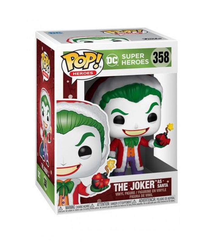 Pop! DC Heroes: Joker as Santa