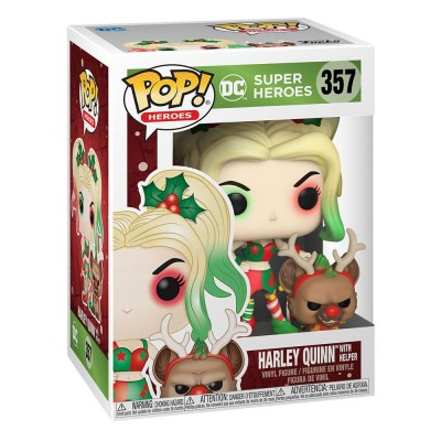 Pop! DC Holiday: Harley Quinn with Helper