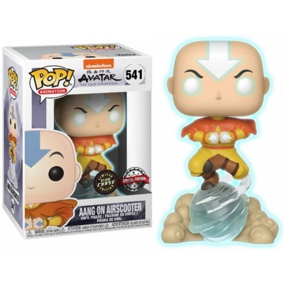 Pop! Aang on Airscooter glow chase