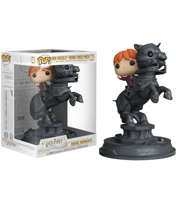 Pop! Harry Potter Movie Moments: Ron riding Chess