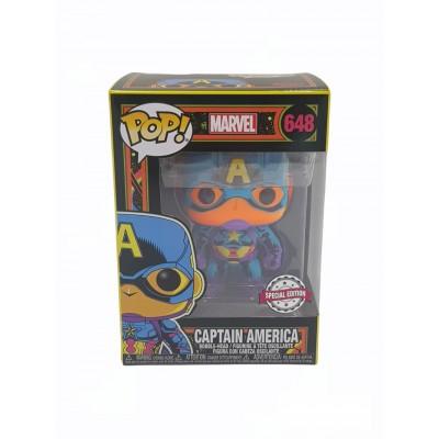 Pop! Marvel Black Light Captain America
